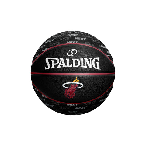 Spalding Miami HEAT Repeat Pattern Mini Ball