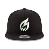 HEATCHECK New ERA Black & White Snapback - 1