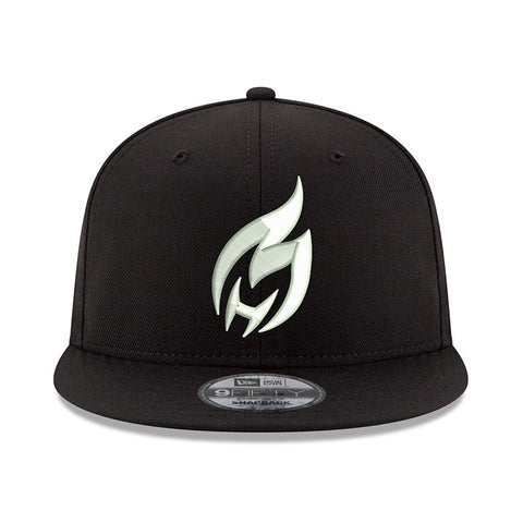 HEATCHECK New ERA Black & White Snapback