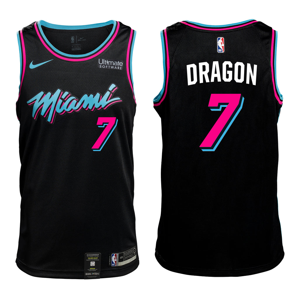 #7 DRAGON Personalized Vice Jersey - featured image
