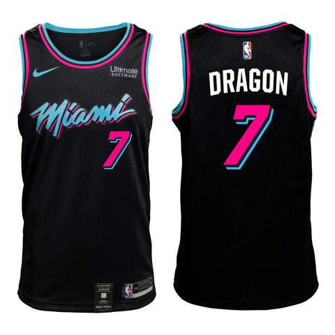 #7 DRAGON Personalized Vice Jersey Youth