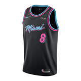 Tyler Johnson Nike Miami HEAT Youth Vice Nights Swingman Jersey - 1