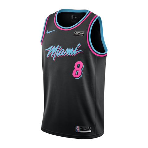 Tyler Johnson Nike Miami HEAT Youth Vice Nights Swingman Jersey