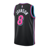 Tyler Johnson Nike Miami HEAT Youth Vice Nights Swingman Jersey - 2