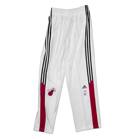 adidas Miami HEAT White On-Court Pants