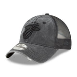 New ERA Tonal Washed Black Snapback - 3