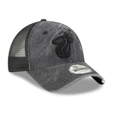New ERA Tonal Washed Black Snapback - 4