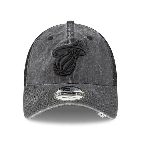 New ERA Tonal Washed Black Snapback