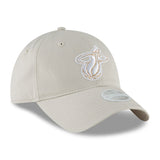 New ERA Miami HEAT Ladies Team Glisten Light Grey - 4