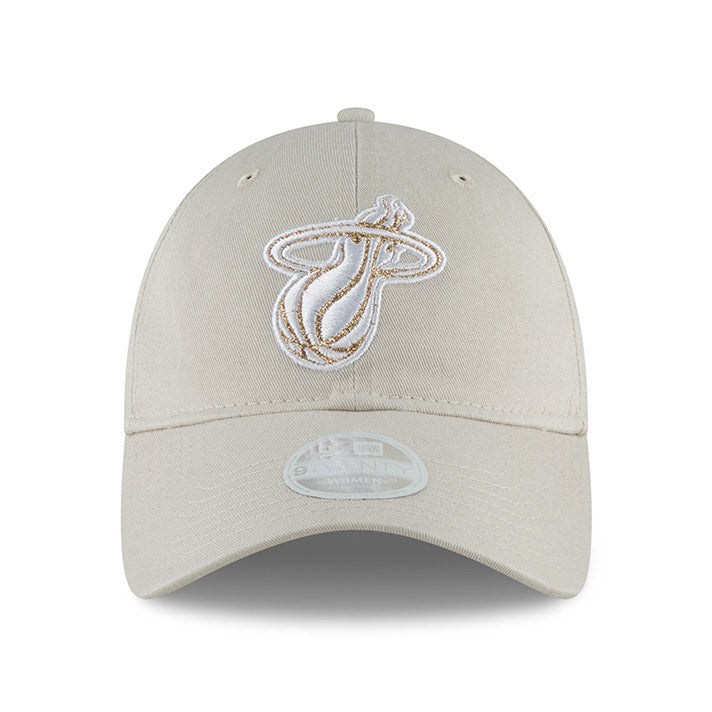 New ERA Miami HEAT Ladies Team Glisten Light Grey - featured image