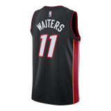 Dion Waiters Nike Miami HEAT Icon Black Swingman Jersey - 2