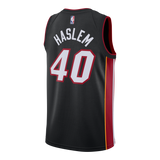 Udonis Haslem Nike Miami HEAT Youth Icon Black Swingman Jersey - 2