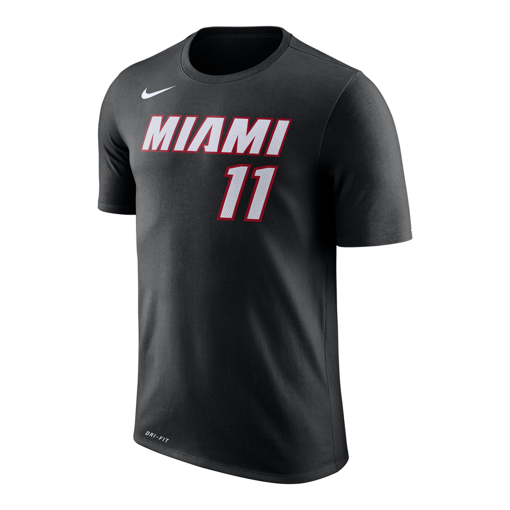 Dion Waiters Nike Miami HEAT Youth Black Name & Number Tee - featured image