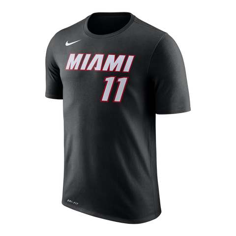 Dion Waiters Nike Miami HEAT Black Name & Number Tee