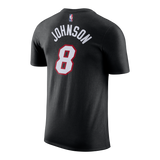 Tyler Johnson Nike Miami HEAT Youth Black Name & Number Tee - 2