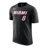 Tyler Johnson Nike Miami HEAT Youth Black Name & Number Tee - 1