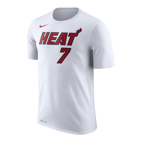 Goran Dragic Nike Miami HEAT Youth Name & Number Tee White