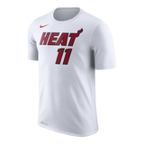 Dion Waiters  NIKE Miami HEAT Youth White Name & Number Tee - 1