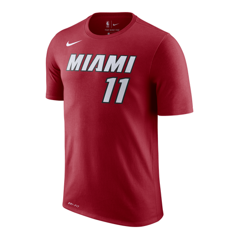 Dion Waiters Nike Miami HEAT Red Name & Number Tee