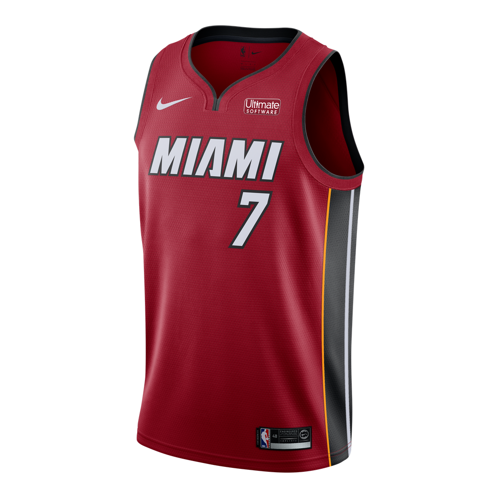 Goran Dragic Nike Miami HEAT Youth Statement Red Swingman Jersey - featured image