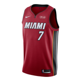 Goran Dragic Nike Miami HEAT Youth Statement Red Swingman Jersey - 1