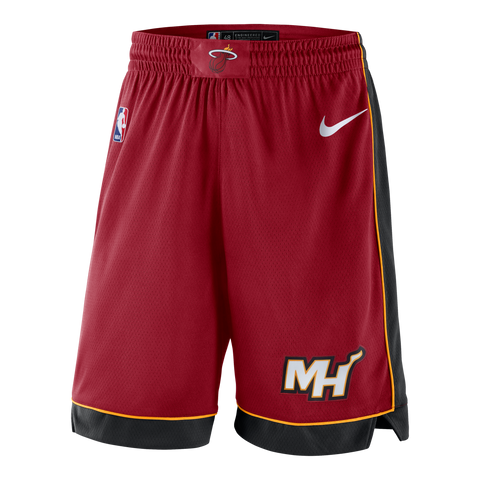 Nike Miami HEAT Youth Swingman Shorts