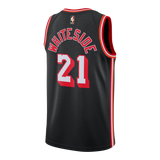 Hassan Whiteside Nike Miami HEAT Classic Edition Youth Jersey - 2
