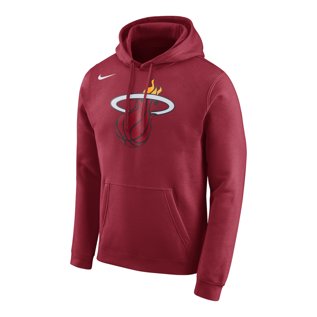 Nike Miami HEAT Logo Club Hoodie Red - featured image
