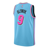 Kelly Olynyk Nike Miami HEAT ViceWave Swingman Jersey - 2