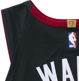 Dwyane Wade Nike Icon Black Authentic Jersey - 3