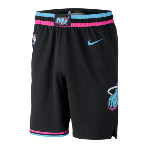 Nike Miami HEAT Vice Nights Swingman Shorts