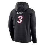 Nike Miami HEAT Dwyane Wade Name & Number Hoodie - 2