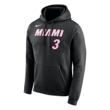 Nike Miami HEAT Dwyane Wade Name & Number Hoodie - 1
