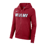 Nike Ladies Wordmark Full Zip Essential Hoodie - 1