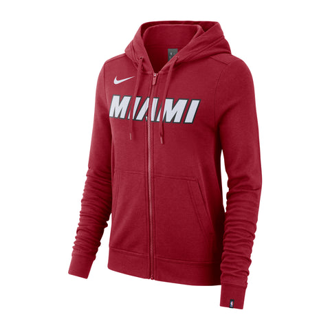 Nike Ladies Wordmark Full Zip Essential Hoodie