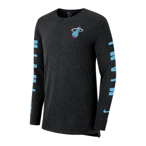 Nike Miami HEAT Vice Nights Long Sleeve Tee