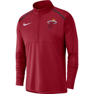Nike Element Half Zip Long Sleeve HEAT Top