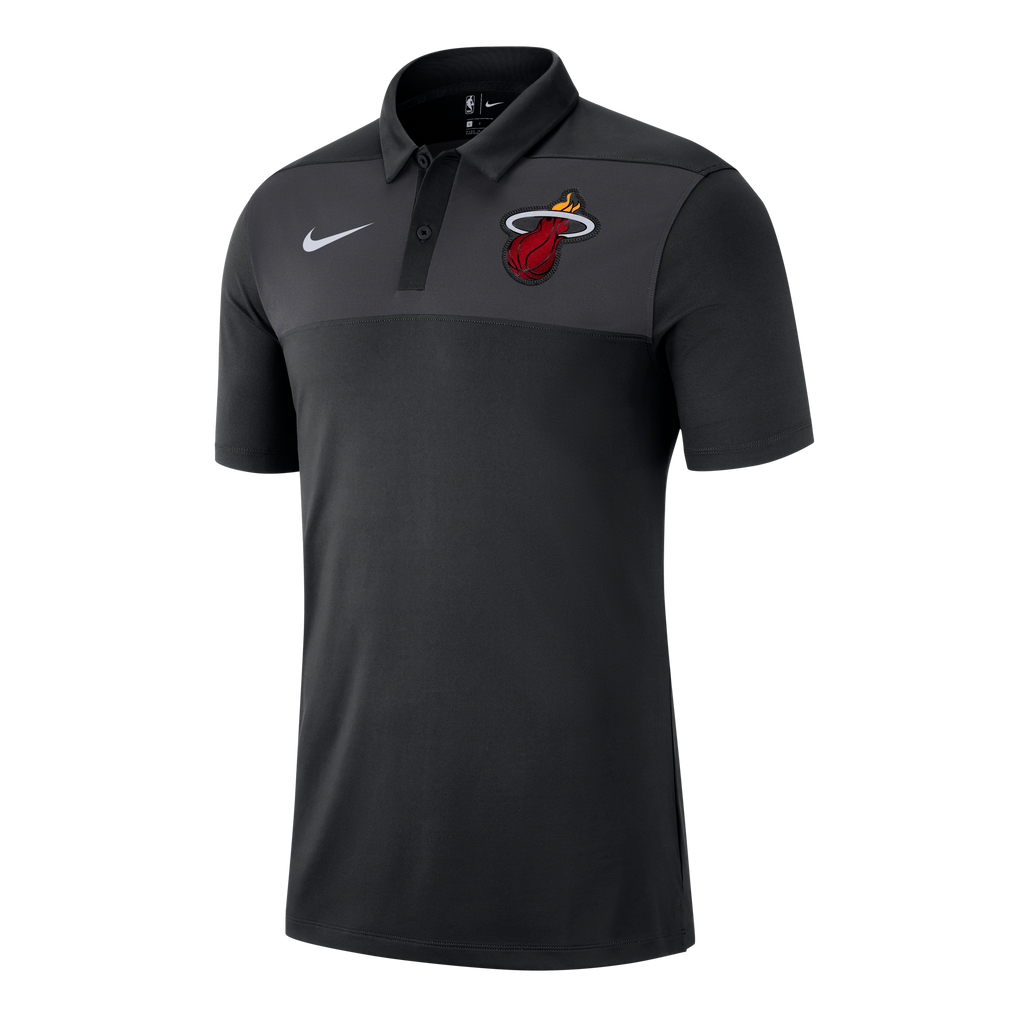 Nike Miami HEAT Short Sleeve Statement Polo - featured image
