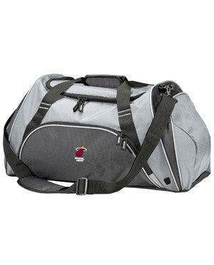 Antigua Miami HEAT Action Duffel Silver