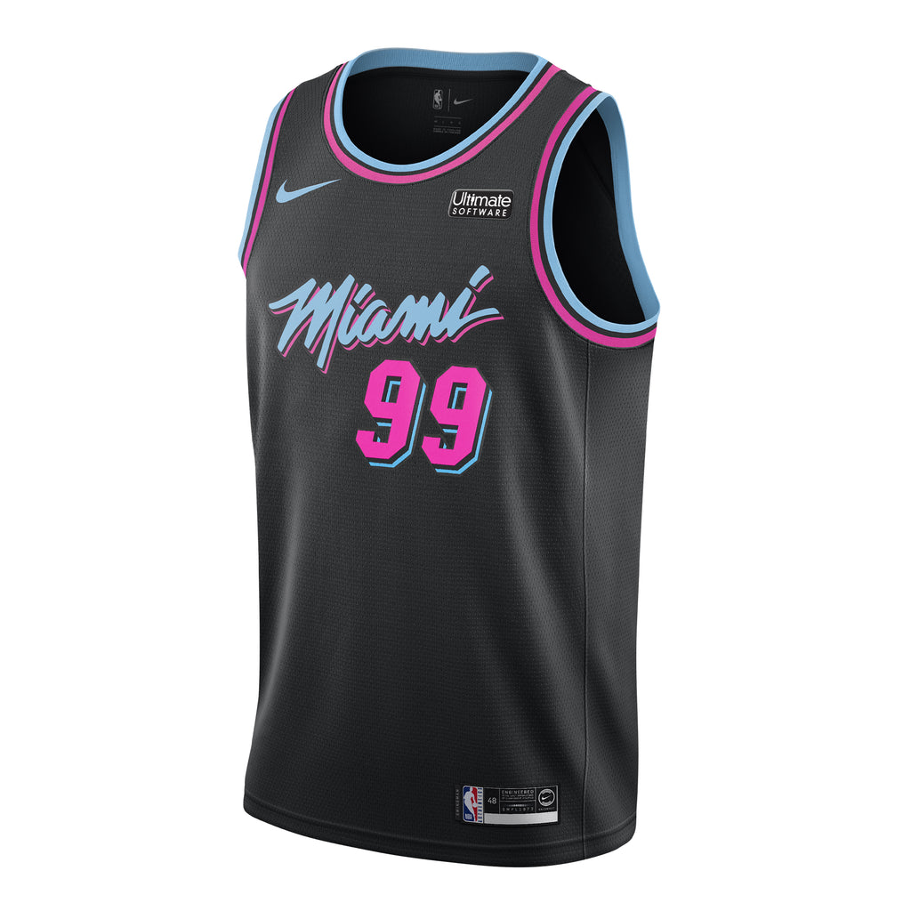 Jae Crowder Nike Miami HEAT Vice Nights Swingman Jersey - featured image