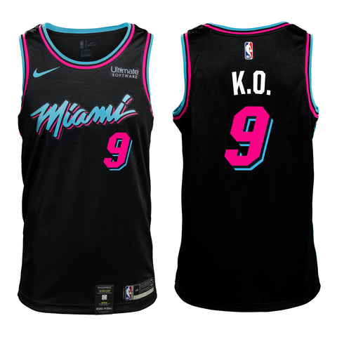 #9 K.O. Personalized Vice Jersey