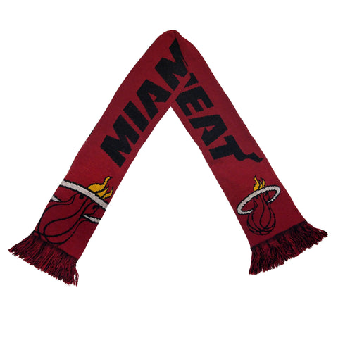 Forever Collectibles Miami HEAT Reversible Split Logo Scarf