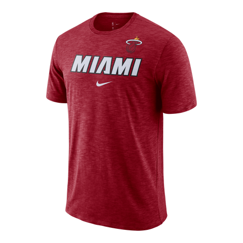 Nike Miami HEAT Short Sleeve 2018 Facility Tee