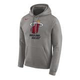 Nike Miami HEAT Grey Pull Over Hoodie - 1