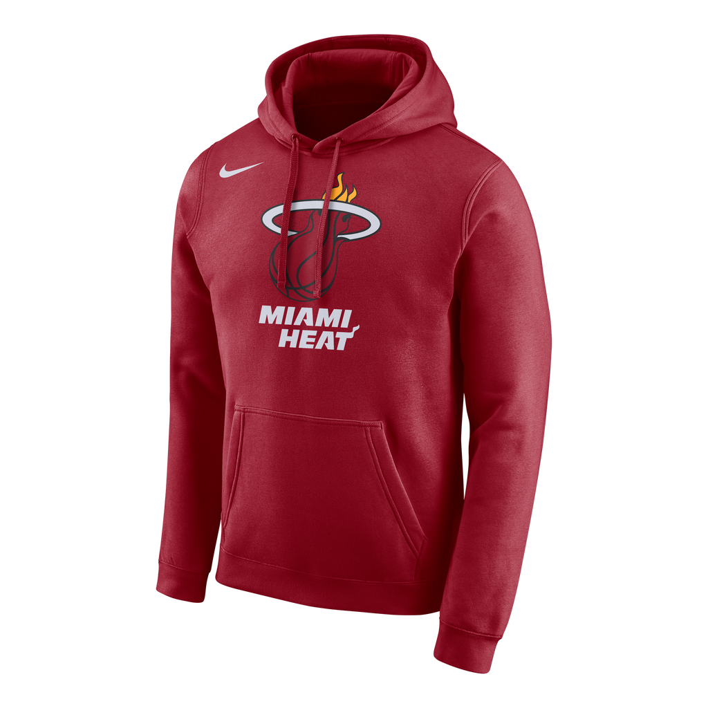 Nike Miami HEAT Red Pull Over Hoodie - featured image