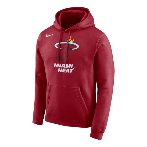 Nike Miami HEAT Red Pull Over Hoodie