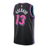 Bam Adebayo Nike Miami HEAT Vice Nights Swingman Jersey - 2