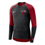 Nike Miami HEAT Long Sleeve On-Court Shooter - 1