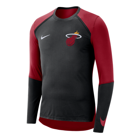 Nike Miami HEAT Long Sleeve On-Court Shooter