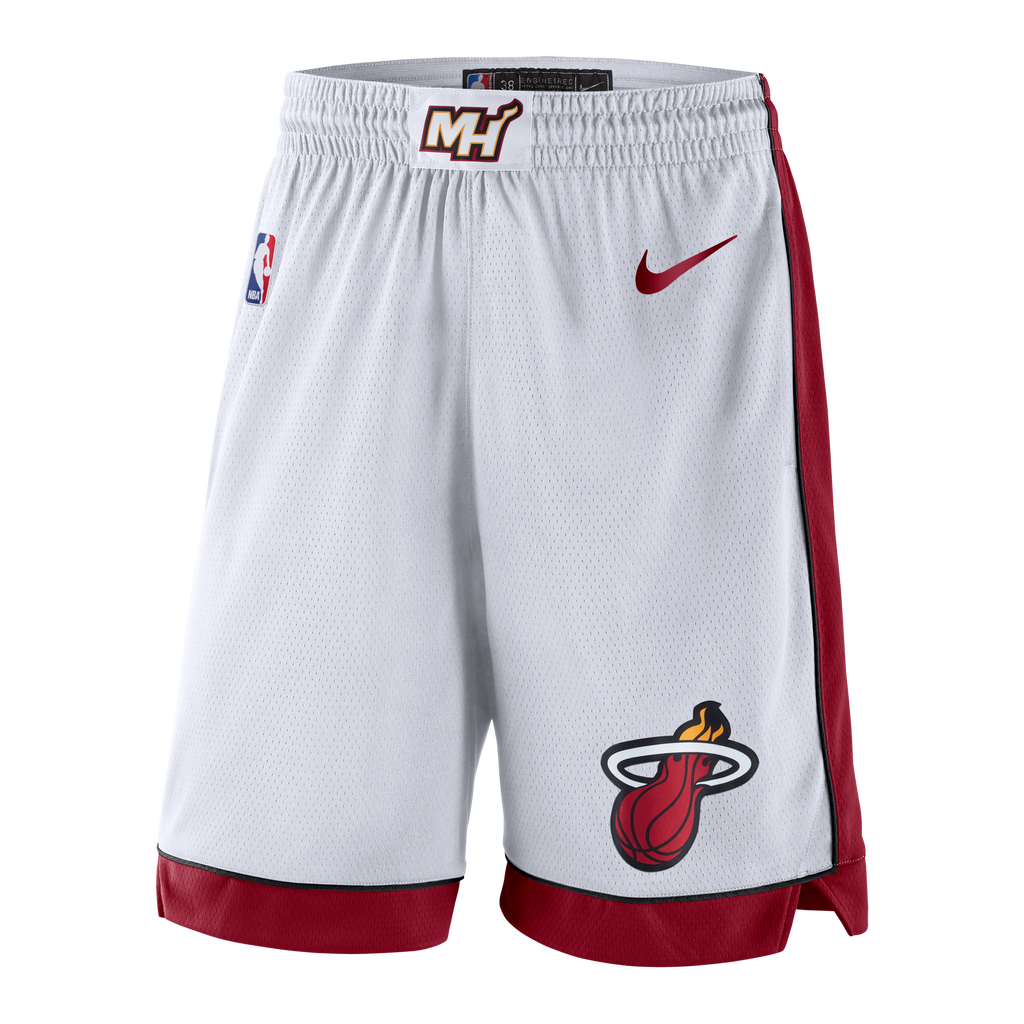 Nike Miami HEAT Swingman Shorts White - featured image